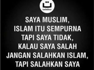 Jangan Berikan yang Sisa untuk Islam