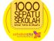 1000 sepatu sekolah untuk Yatim & Dhuafa