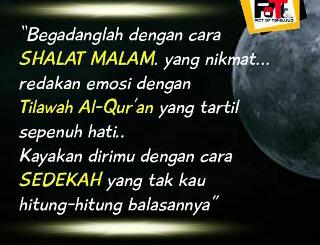 Tuntunan Rasulullah di bulan Sya'ban