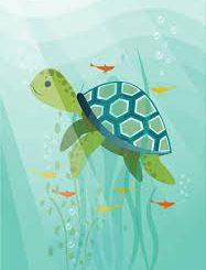 Dialog Imajiner Ikan dan Kura-kura
