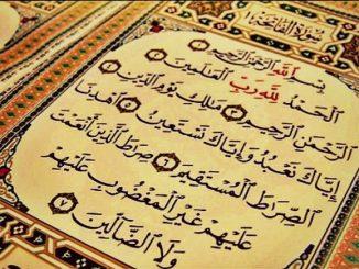 Keistimewaan Surat Al Fatihah