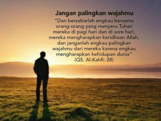 Keanehan Surat Al Kahf ayat 28